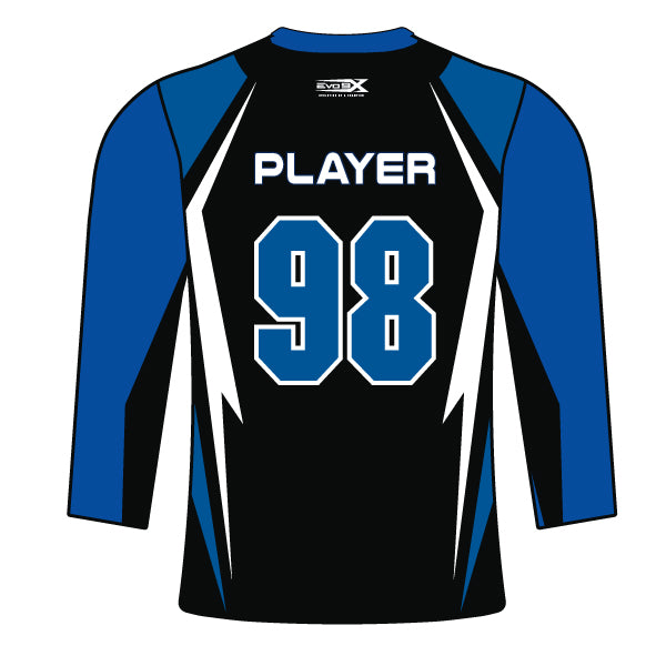 Evo9x BELTSVILLE BULLS Full Dye Sublimated Long Sleeve Shirt