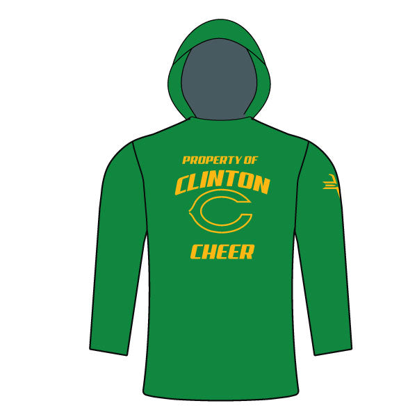 Evo9x CLINTON GAELS Full Dye Sublimated Cheer T-Shirt Hoodie