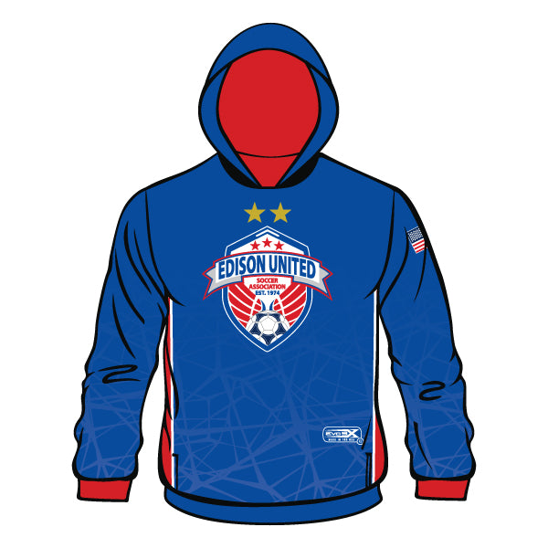 Evo9x EDISON UNITED Full Dye Sublimated Hoodie
