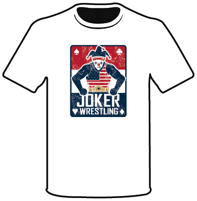 JOKER SEMI SUB SHORT SLEEVE TEE WHT