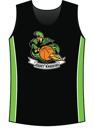 JERSEY WARRIORS SUBLIMATED SLEEVELESS JERSEY