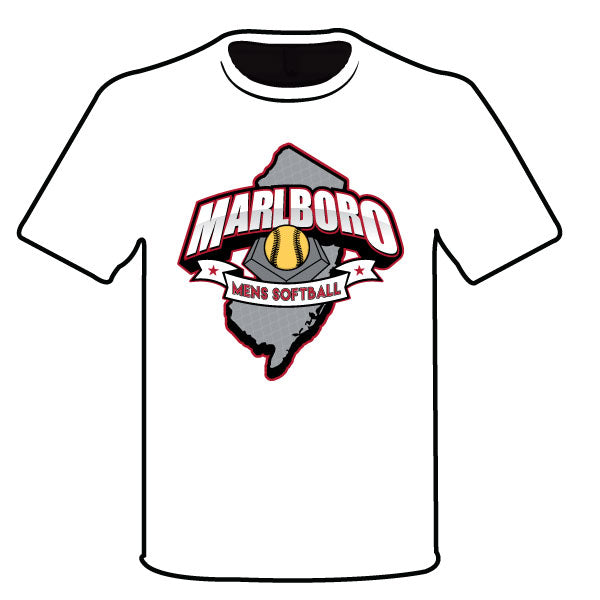 MARLBORO SOFTBALL SEMI SUB BLACK LOGO