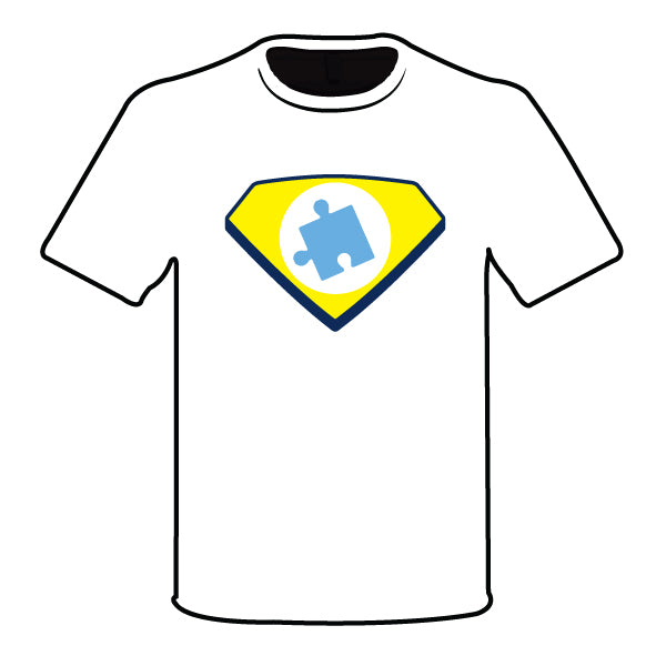 YOUTH AUTISM HERO SEMI SUB SHIRT