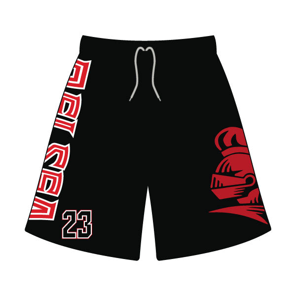 Evo9x DELSEA KNIGHTS Full Dye Sublimated Shorts