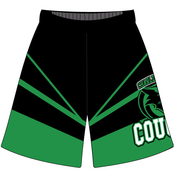 Evo9x CHARLES CARROLL COUGARS Sublimated Shorts