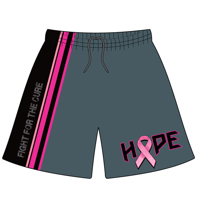 EVO FIGHT FOR THE CURE MICROFIBER SHORTS