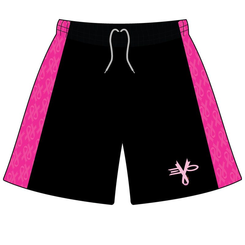EVO BREAST CANCER AWARENESS MICROFIBER SHORTS