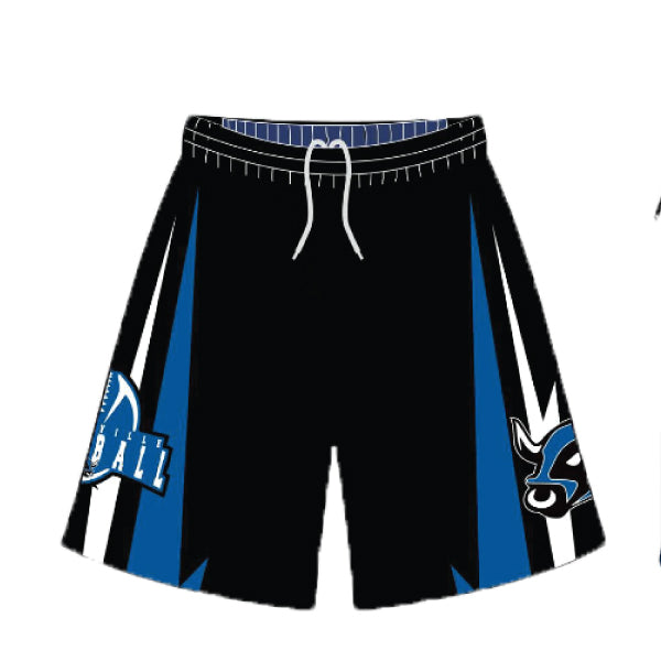 Evo9x BELTSVILLE BULLS Full Dye Sublimated Shorts