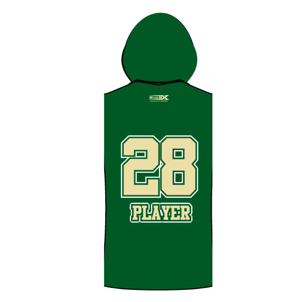 MEMORIAL MUSTANGS SLEEVELESS COMPRESSION HOODIE