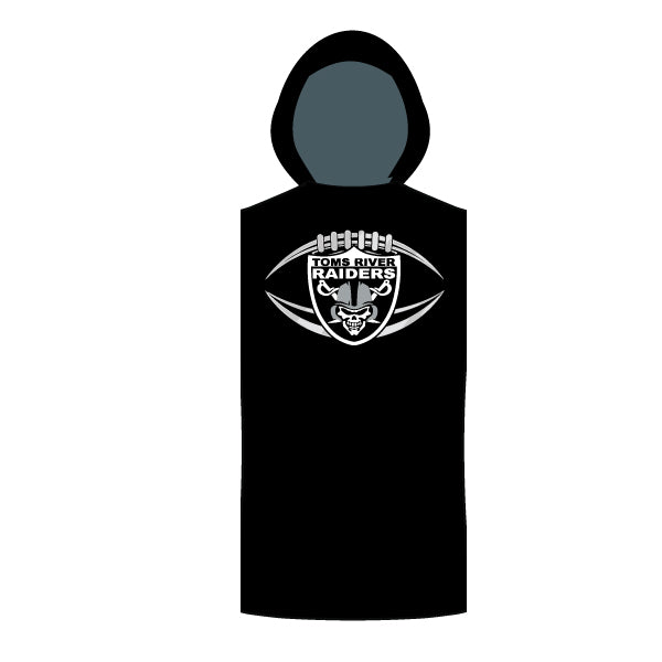 TOMS RIVER RAIDERS SLEEVELESS COMPRESSION HOODIE