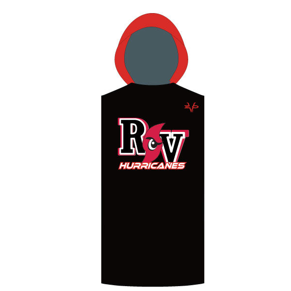 RV HURRICANES SLEEVELESS COMPRESSION HOODIE