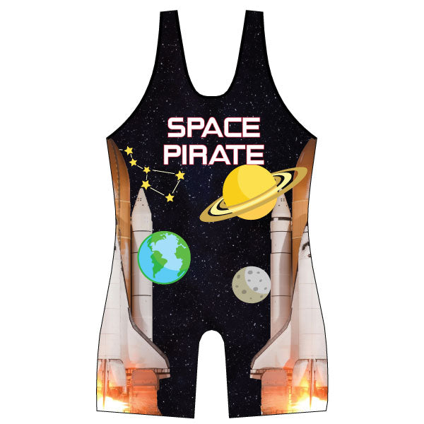 Evo9x OUTER SPACE Full Dye Sublimated Wrestling Singlet