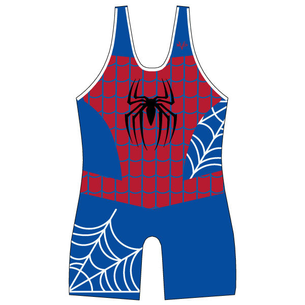 Evo9x WEB SLINGER Full Dye Sublimated Wrestling Singlet