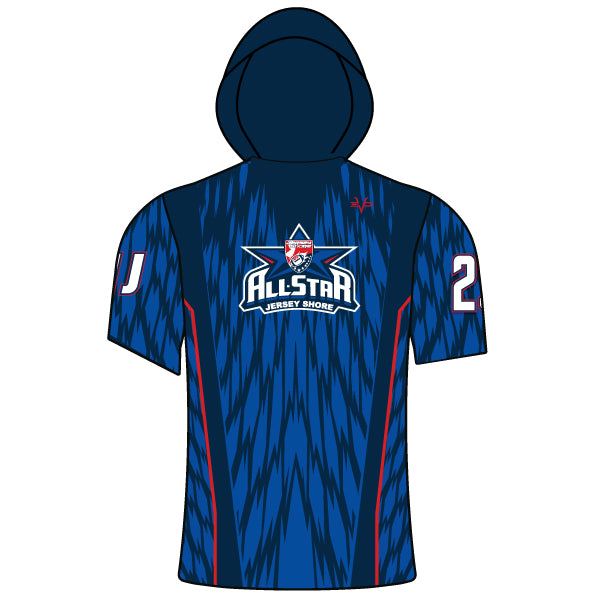 NJAYF ALL STAR LIGHTWEIGHT SHORT SLEEVE HOODIE