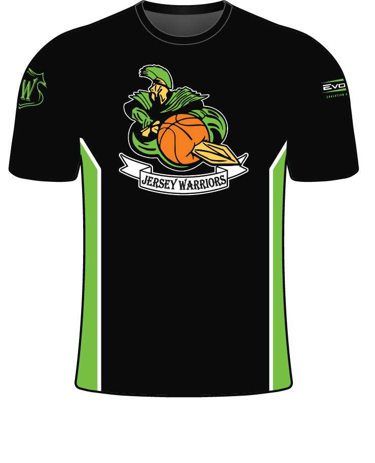 JERSEY WARRIORS SUBLIMATED SHORT SLEEVE JERSEY