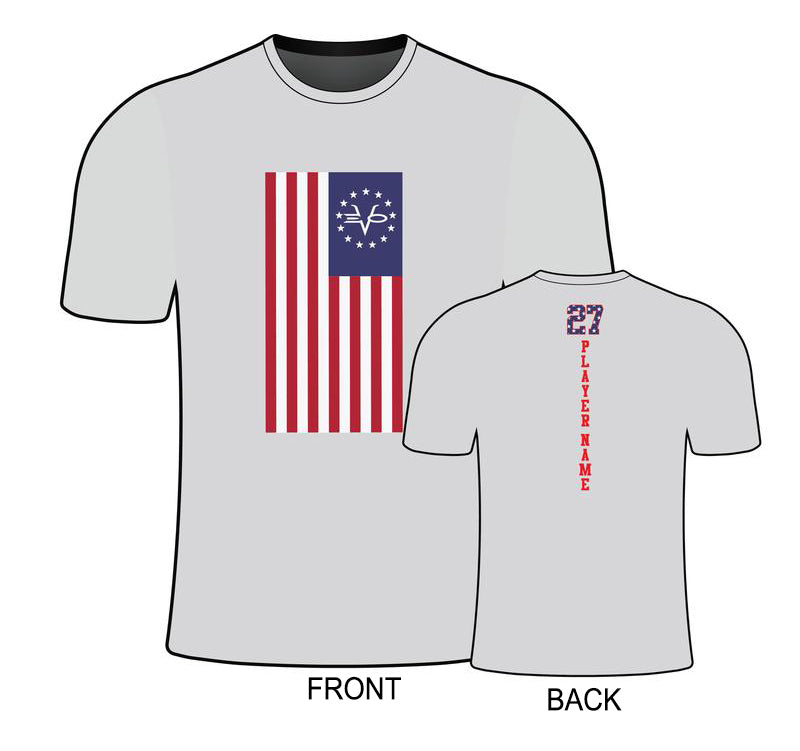 MENS EVO FLAG SEMI SUB SHIRT