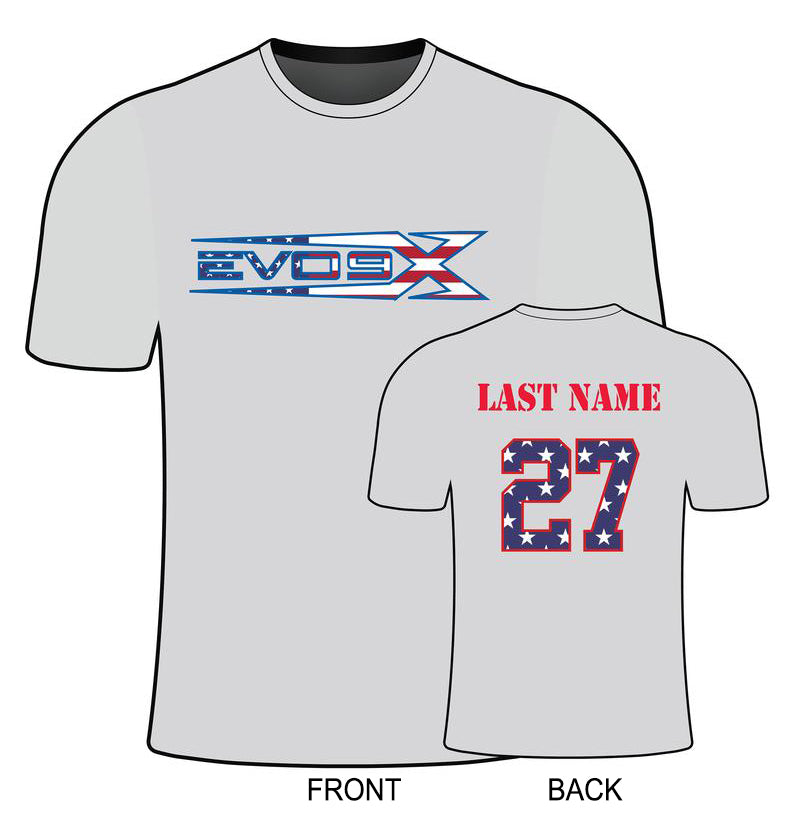 MENS EVO USA LOGO SEMI SUB SHIRT