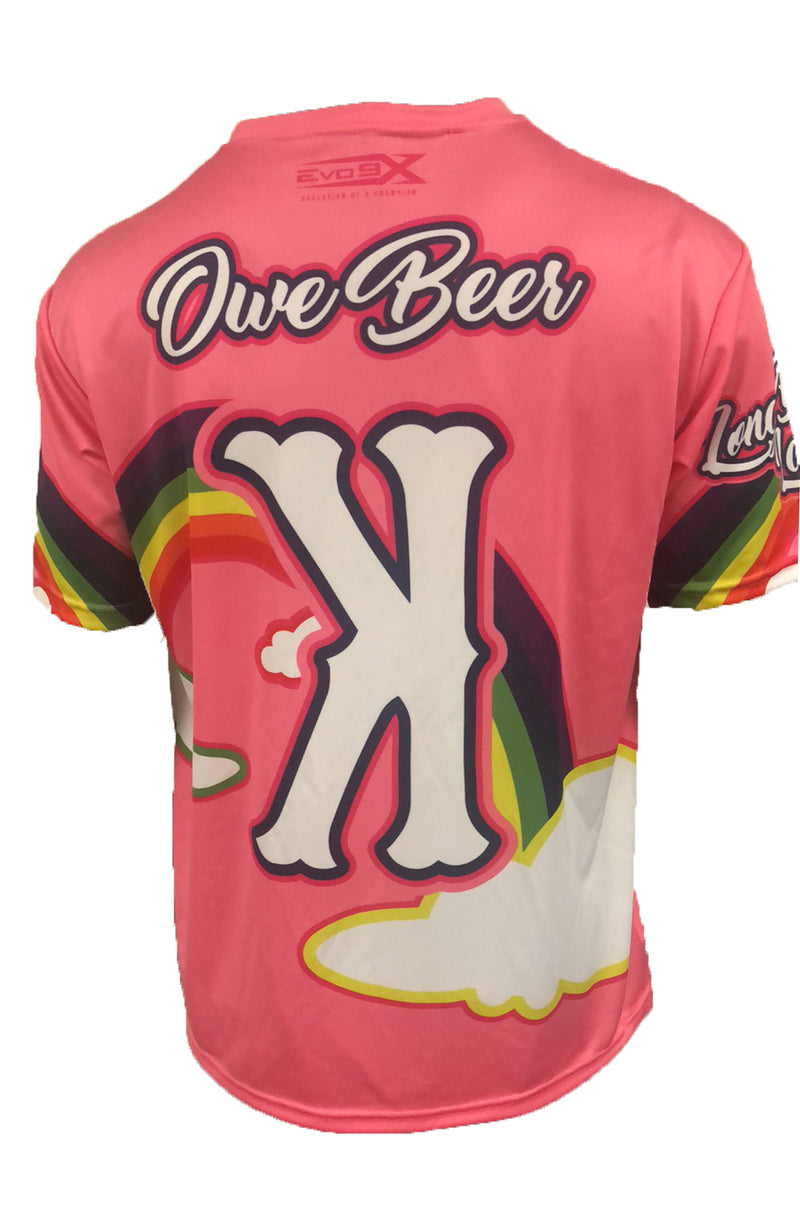 MENS FULL DYE SUBLIMATED STRIKE OUT JERSEY