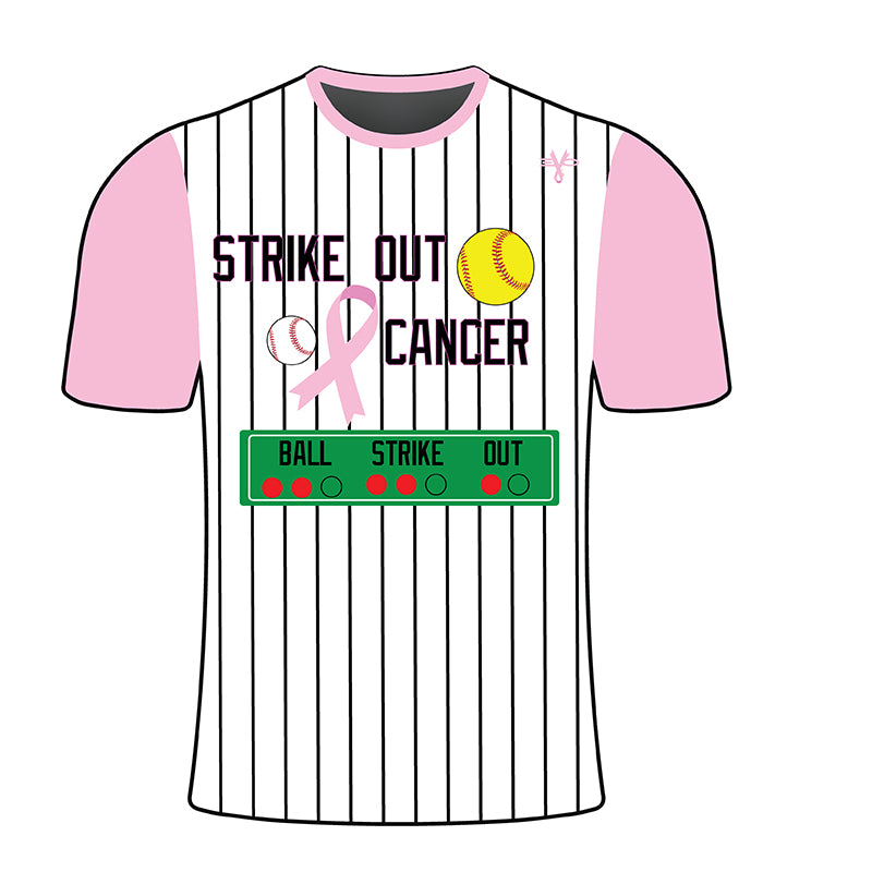 Strike Out Breast Cancer Shirt