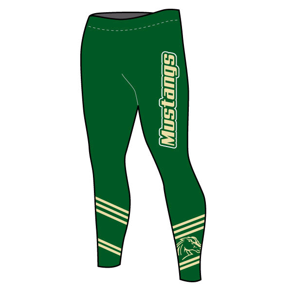 MEMORIAL MUSTANGS WOMENS TIGHTS
