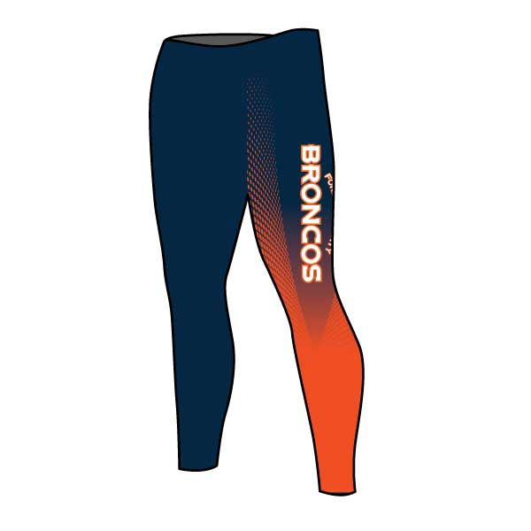 FORSYTH COUNTY BRONCOS WOMENS TIGHTS