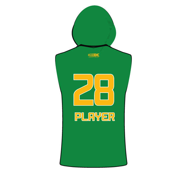 Evo9x CLINTON GAELS Full Dye Sublimated Sleeveless Compression Hoodie