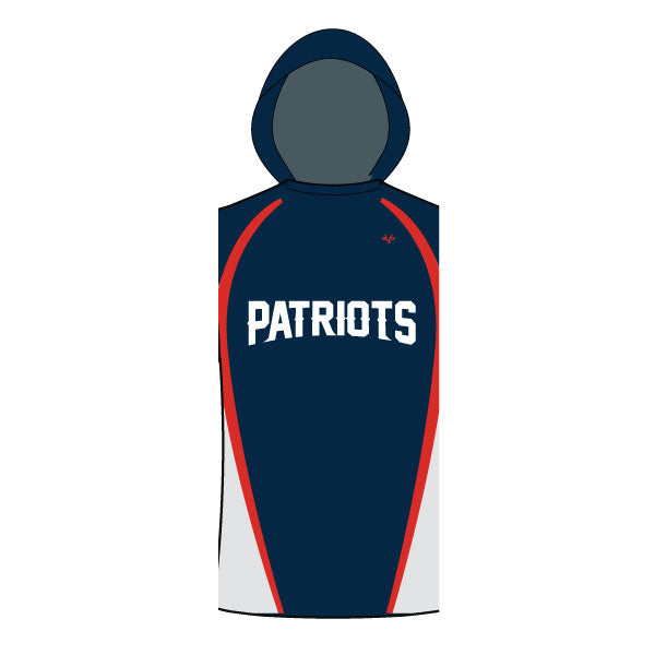 NM PATRIOTS SLEEVELESS TSHIRT HOODIE