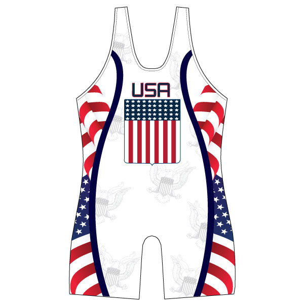 Evo9x USA SEAL Full Dye Sublimated Wrestling Singlet