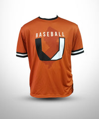 Full Dye sublimated Short sleeves Crew UBB-TOrange