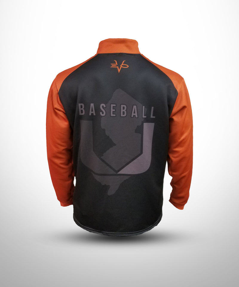 Evo9x BASEBALL U Full Dye Sublimated Quarter Zip Pullover