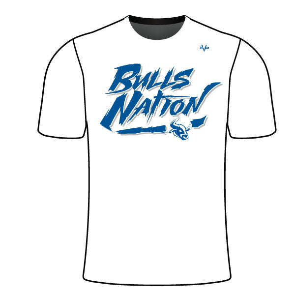 BELTSVILLE BULLS NATION SEMI SUB SHIRT WHITE