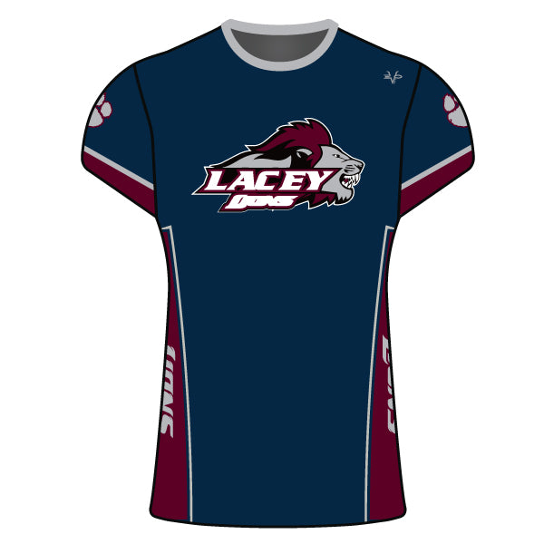 LACEY LIONS WOMENS CREW SHIRT