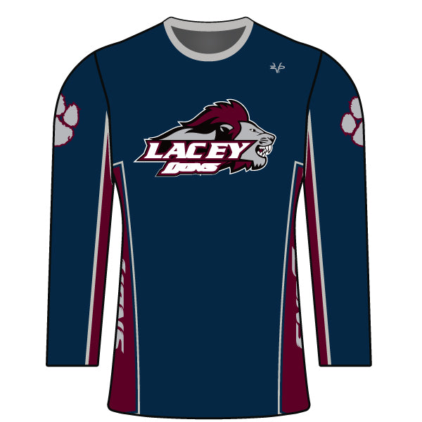 LACEY LIONS WOMENS LONG SLEEVE SHIRT