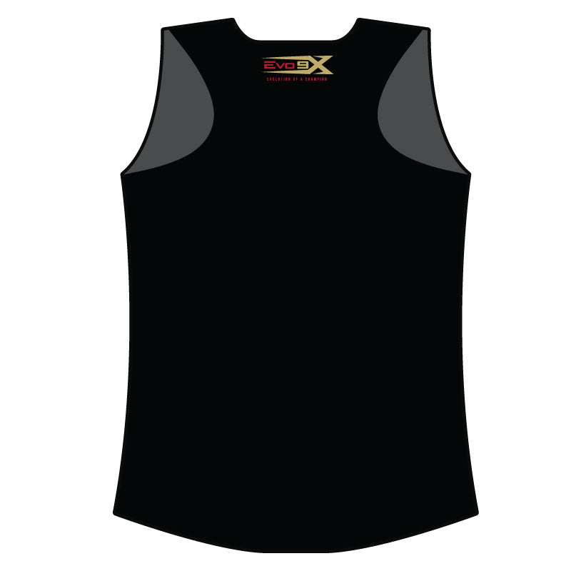 EAST PEORIA EXPRESS WOMENS RACERBACK SHIRT BLK