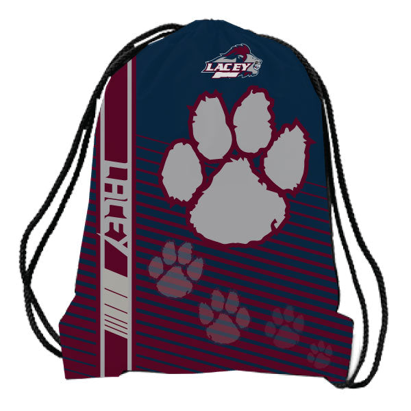 LACEY LIONS DRAWSTRING BAG