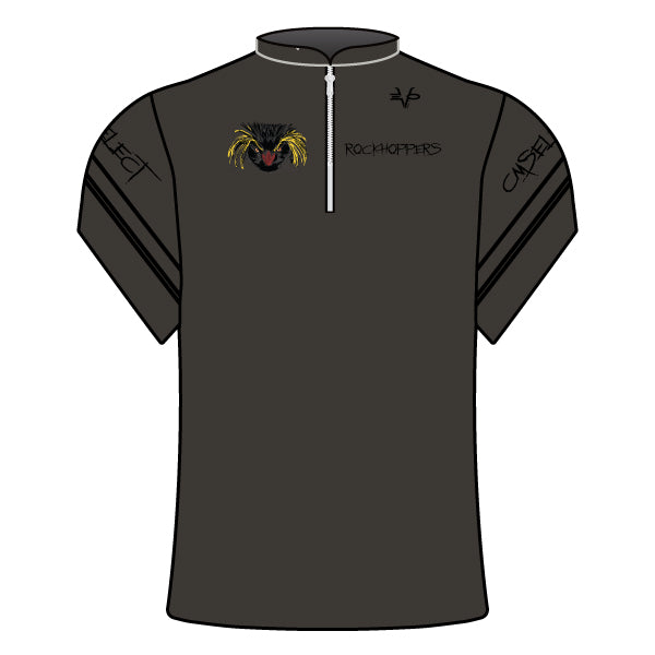 Evo9x CM SELECT ROCKHOPPERS Full Dye Sublimated Coaches Jacket (Charcoal)