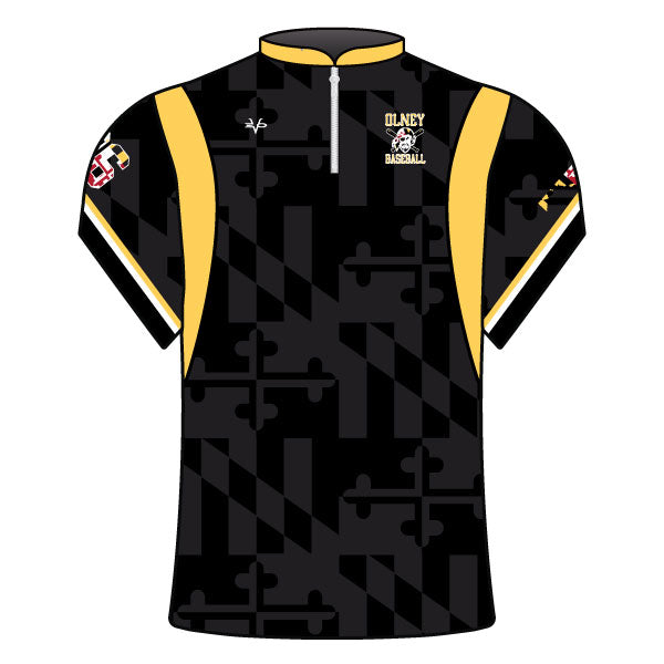Evo9x OLNEY PIRATES Baseball Full Dye Sublimated Baseball Batting Jacket