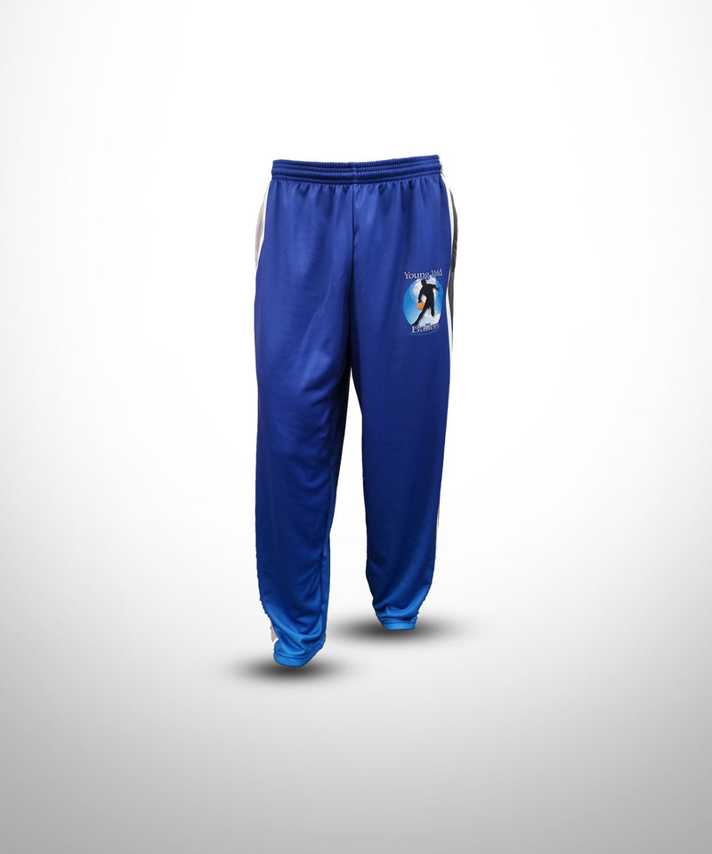Full Dye Sublimated Sweat Pants Baseball BLU YW BALLERS