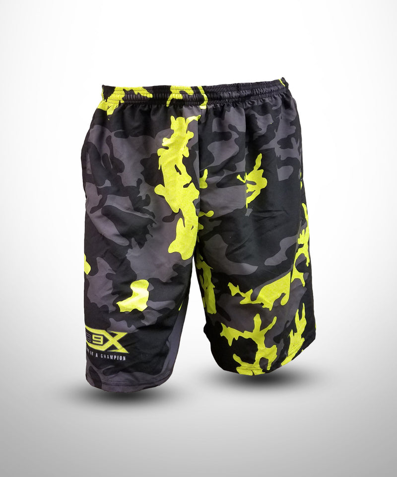 Evo9x Full Dye Sublimated Micro Fiber Shorts CAMO