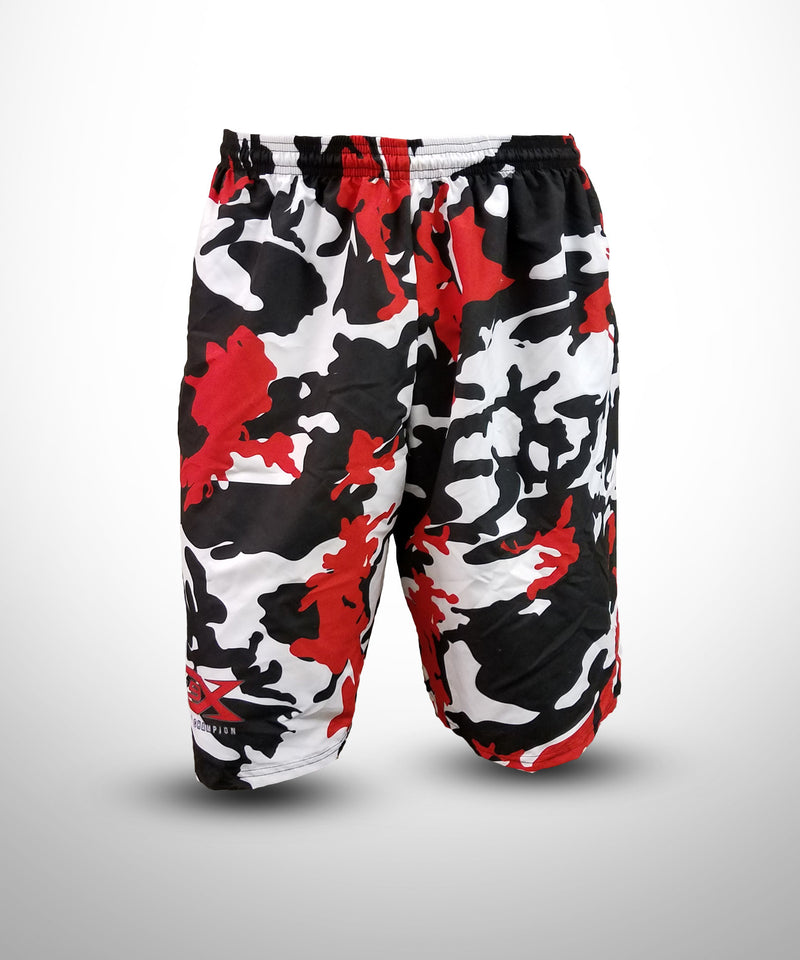 Full Dye Sublimated Micro Fiber Shorts CAMO