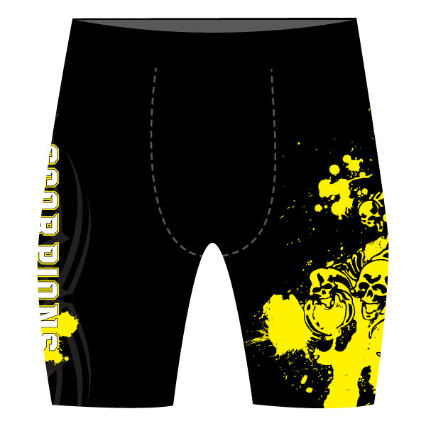 SCORPIONS WRESTLING COMPRESSION SHORTS