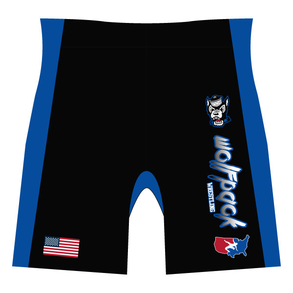 WOODBRIDGE WOLFPACK COMPRESSION SHORTS