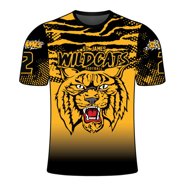 ST JAMES WILDCATS CREW SHIRT