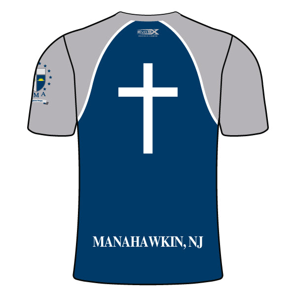 ST. MARY ACADEMY CREW NECK SHIRT (NAVY)