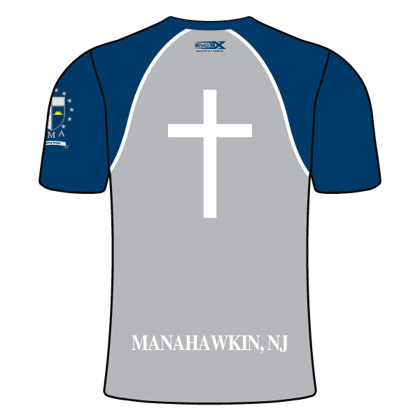 ST. MARY ACADEMY CREW NECK SHIRT (GREY)