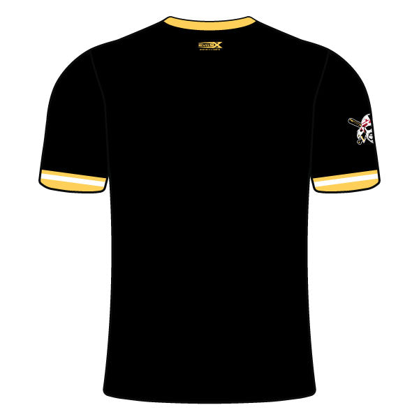 OLNEY PIRATES BASEBALL CREW NECK SHIRT (MARYLAND - BLACK)