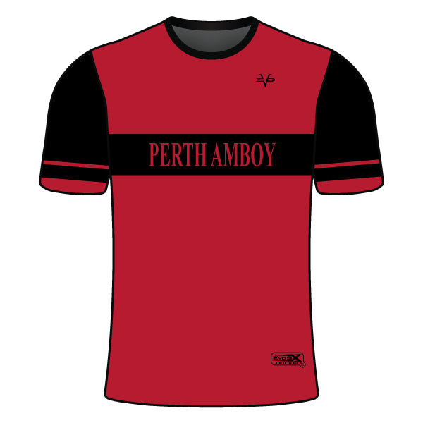 PERTH AMBOY WRESTLING CREW NECK SHIRT