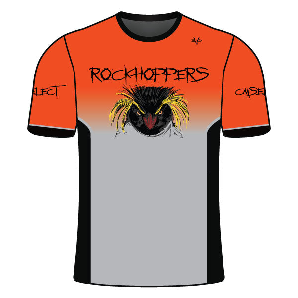 Evo9x CM SELECT ROCKHOPPERS Full Dye Sublimated Crew Neck Shirt Orange