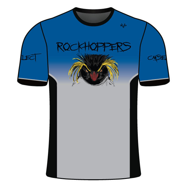 Evo9x CM SELECT ROCKHOPPERS Full Dye Sublimated Crew Neck Shirt Royal