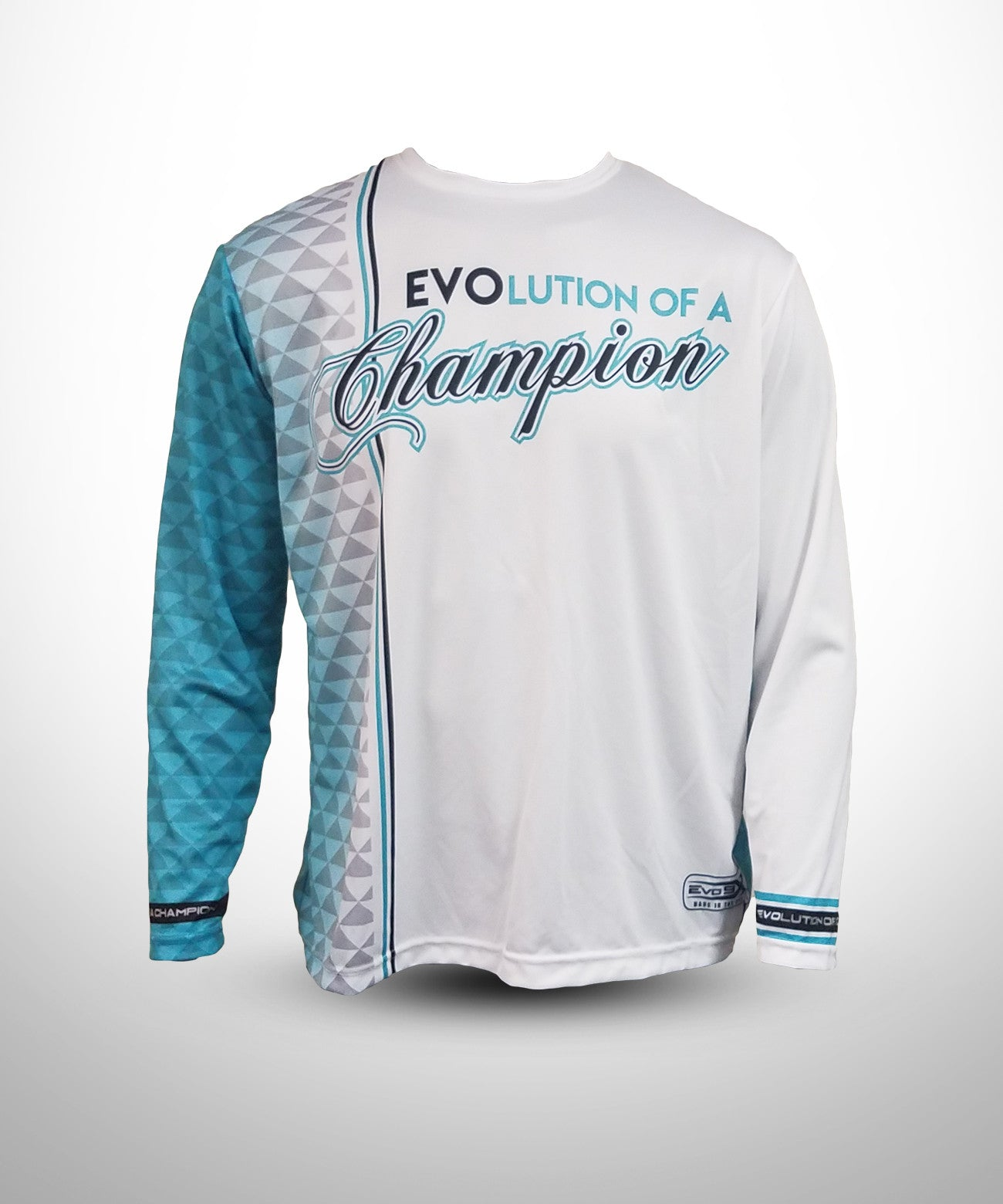 a389c09f Full dye sublimated Long sleeve jersey - Evolution Of a Champion ...